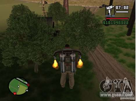 Project Oblivion 2007 for GTA San Andreas fifth screenshot