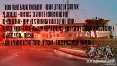 Radio Record by BuTeK for GTA Vice City second screenshot