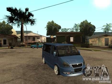 Gaz-2217-Barguzin Sable for GTA San Andreas right view