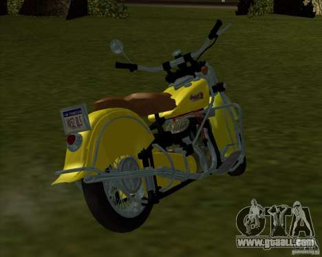 Indian Chief 1948 for GTA San Andreas left view