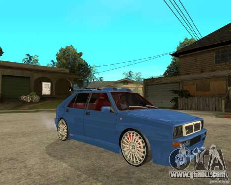 Lancia Delta Sparco for GTA San Andreas right view