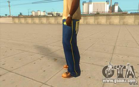 Karl Kan Puzzle Jeans for GTA San Andreas second screenshot