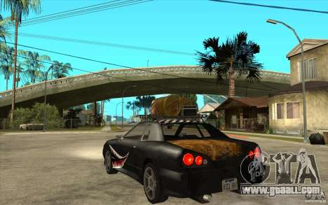 Elegy Rost Style for GTA San Andreas back left view