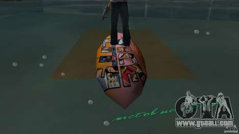 Surfboard 1 for GTA Vice City right view