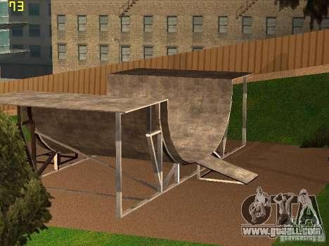 New SkatePark v2 for GTA San Andreas third screenshot