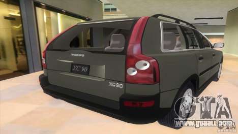 Volvo XC90 for GTA Vice City left view