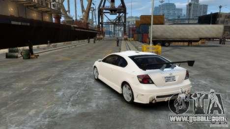 Toyota Scion for GTA 4 right view