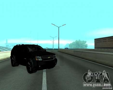 Chevrolet Tahoe BLACK EDITION for GTA San Andreas right view