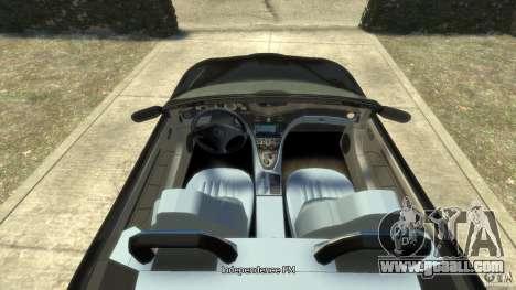 Maserati Spyder Cambiocorsa for GTA 4 right view