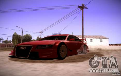 Audi A4 DTM for GTA San Andreas