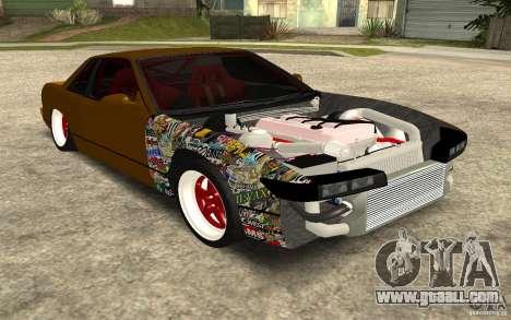 Nissan Silvia S13 Crash Construction for GTA San Andreas