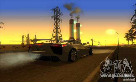 ENB Graphics by KINOman for GTA San Andreas sixth screenshot