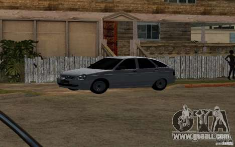 LADA priora light tuning hatchback for GTA San Andreas back view
