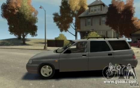 Lada ВАЗ 2111 for GTA 4 left view