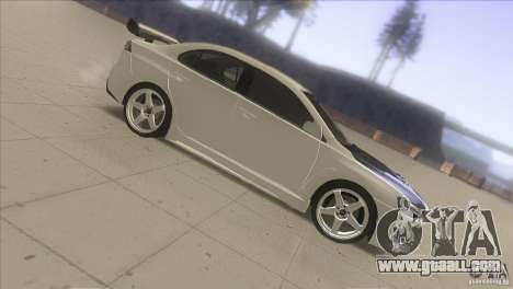 Mitsubishi Lancer Evo IX DIM for GTA San Andreas back left view