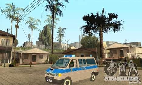 Volkswagen Transporter T4 German Police for GTA San Andreas
