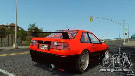 Futo GTRS for GTA 4 left view