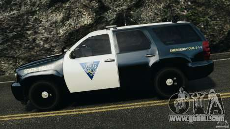 Chevrolet Tahoe Marked Unit [ELS] for GTA 4 left view