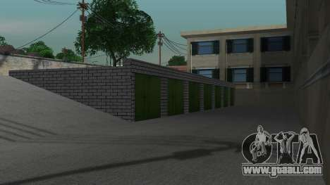 Structure of garages and buildings in SF for GTA San Andreas sixth screenshot