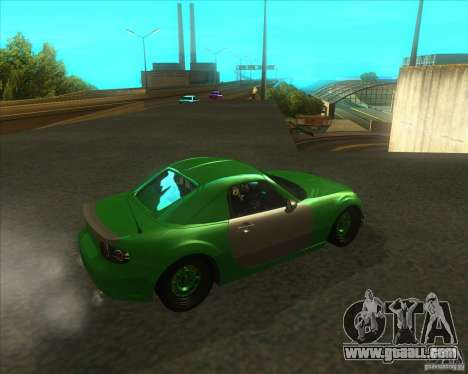 Mazda Miata MX-5 Konguard 2007 for GTA San Andreas right view