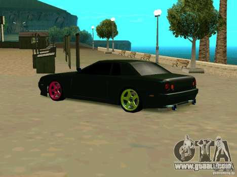 New Elegy for GTA San Andreas back left view