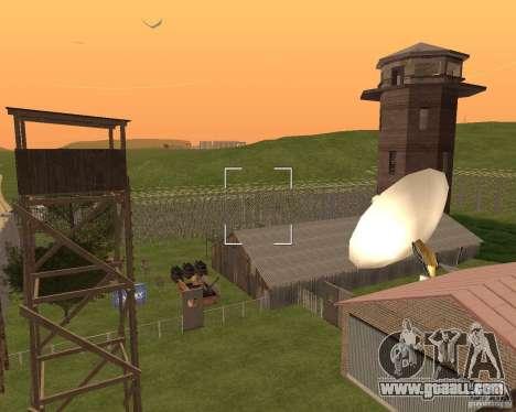 Base Gareli for GTA San Andreas sixth screenshot