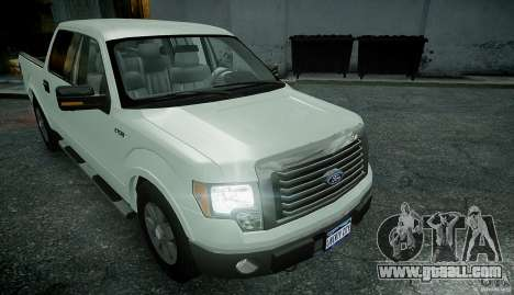 Ford F150 XLT v1.3 for GTA 4 right view