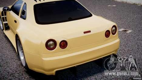 Nissan Skyline R34 v1.0 for GTA 4 engine