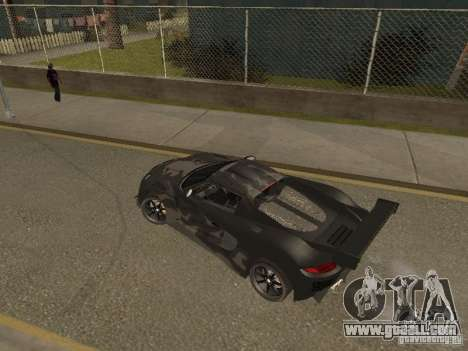Porsche Carrera GT for GTA San Andreas left view