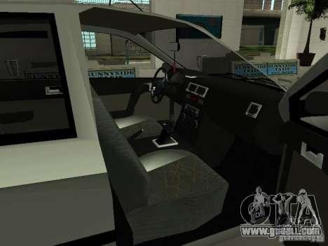 Hyundai Getz for GTA San Andreas back view