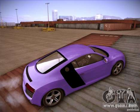 Audi R8 Shift for GTA San Andreas back left view