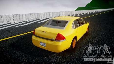 Chevrolet Impala 9C1 2012 for GTA 4 side view