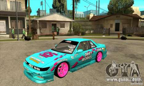 Nissan Silvia S13 Drift Works for GTA San Andreas