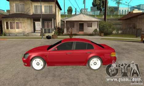 GTA IV Intruder for GTA San Andreas left view