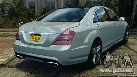 Mercedes-Benz S65 AMG 2012 v1.0 for GTA 4 right view