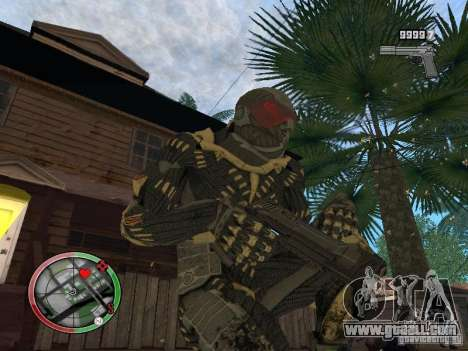 Collection of weapons of Crysis 2 for GTA San Andreas fifth screenshot