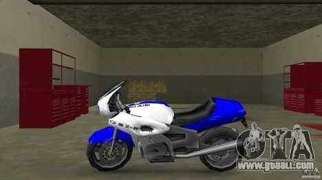 Suzuki GSX-R 600 beta 0.1 for GTA Vice City left view