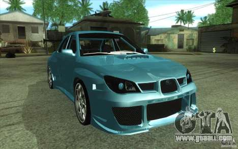 Subaru Impreza STI for GTA San Andreas right view