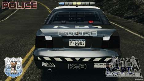 LCPD K9 Unit for GTA 4 upper view