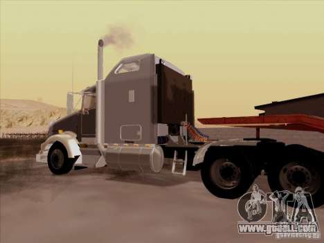 Kenworth T800 for GTA San Andreas back view