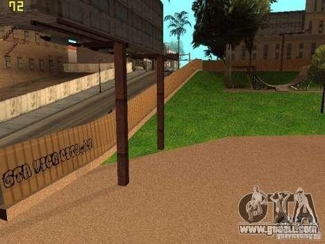 New SkatePark v2 for GTA San Andreas seventh screenshot