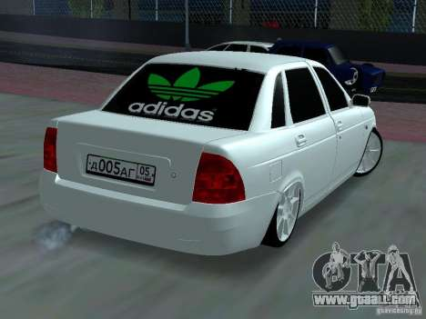 Lada Priora Adidas for GTA San Andreas side view