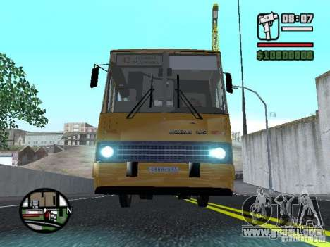 IKARUS 260.37 for GTA San Andreas side view