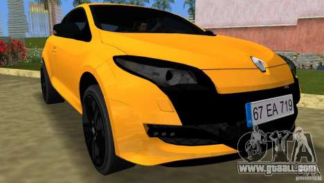 Renault Megane 3 Sport for GTA Vice City