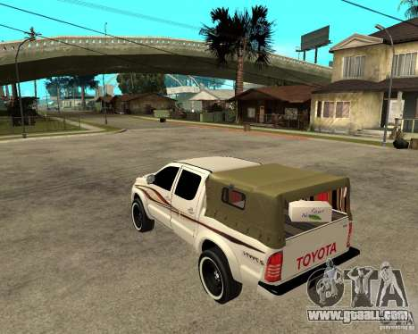 Toyota Hilux 2010 for GTA San Andreas left view