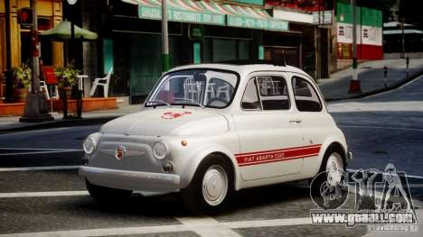 Fiat Abarth 595 SS 1968 for GTA 4