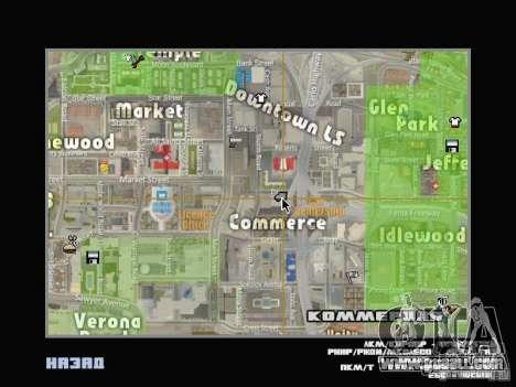 Car shop for GTA San Andreas second screenshot