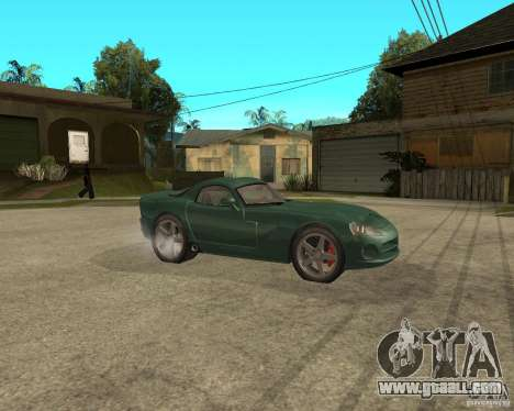 Dodge Viper Srt 10 for GTA San Andreas right view