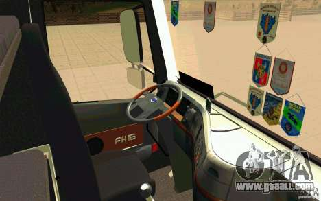 Volvo FH16 Globetrotter Officiel for GTA San Andreas right view
