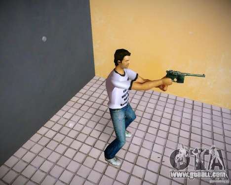 Mauser C96 for GTA Vice City second screenshot